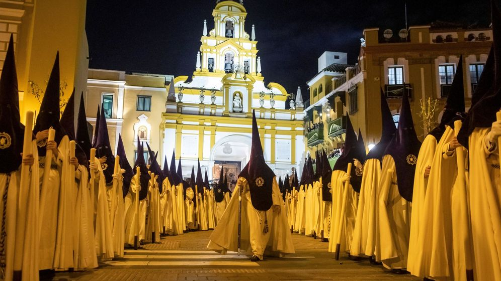 Foto: Imagen de archivo de la Semana Santa en Sevilla. (EFE)
