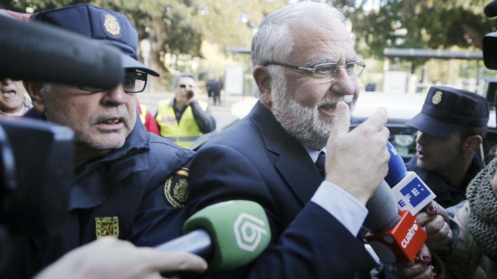 Foto: El expresidente de Les Corts y exvicepresidente del Gobierno valenciano, Juan Cotino. (EFE)