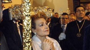 Los santos que acompañaron a Carmen Sevilla