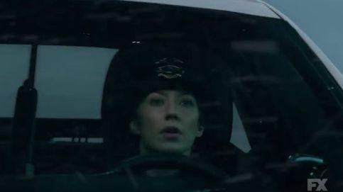 La actriz Carrie Coon en la nueva promo de 'Fargo'