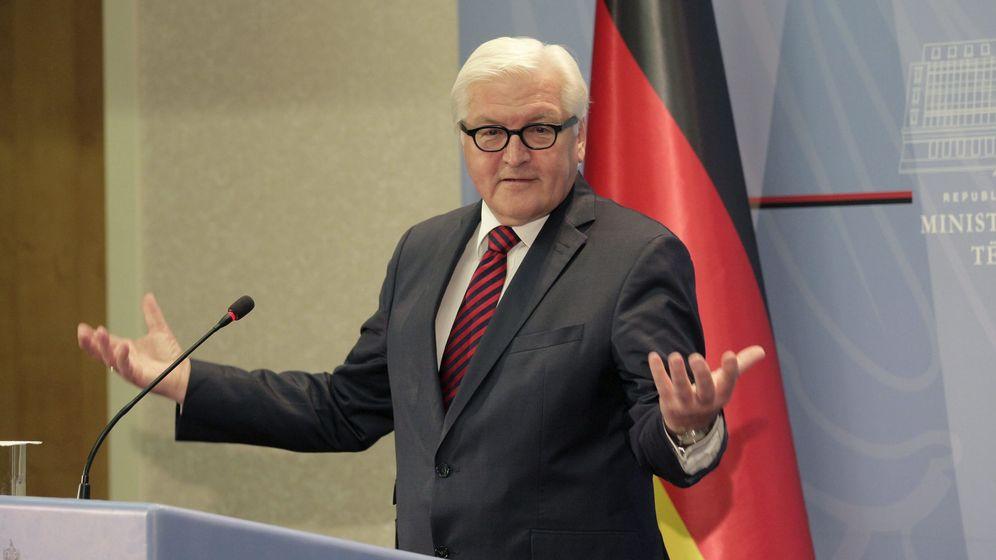 Foto: El ministro de Asuntos Exteriores alemán, Frank-Walter Steinmeier (EFE)