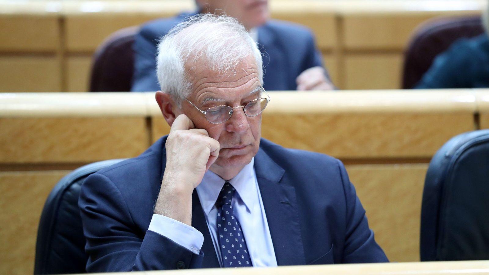 Foto: l ministro de Exteriores, Josep Borrell. (EFE)