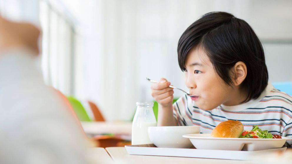 Lecciones nutricionales de los niños más sanos: los japoneses