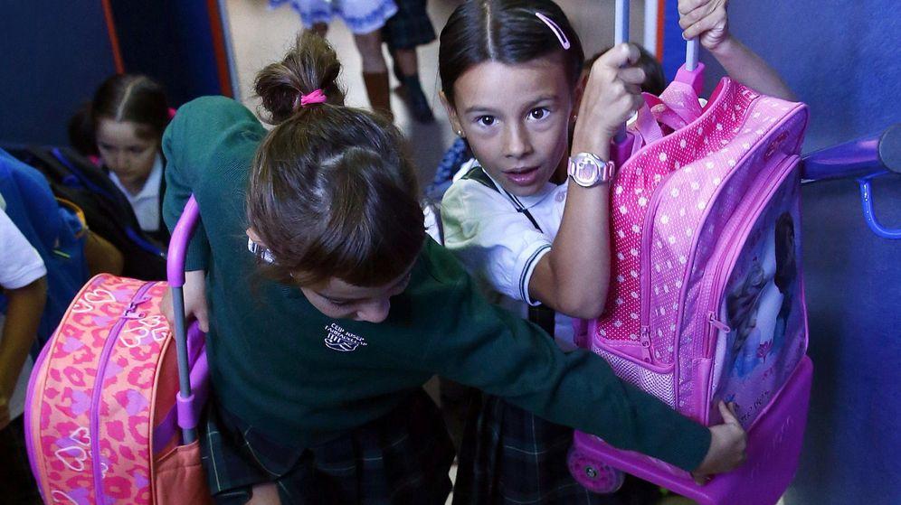 Foto: Esta semana muchos escolares españoles han vuelto a las aulas. (Efe)