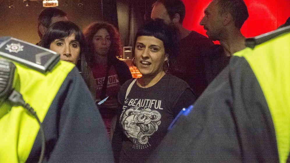 Foto: La portavoz parlamentaria de la CUP, Anna Gabriel. (EFE)