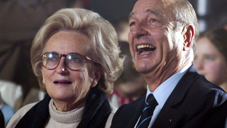 Foto: Bernadette y Jacques Chirac. (Reuters)