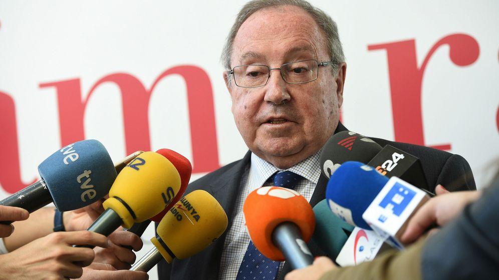 Foto:  El presidente de las cámaras de comercio de España, José Luis Bonet