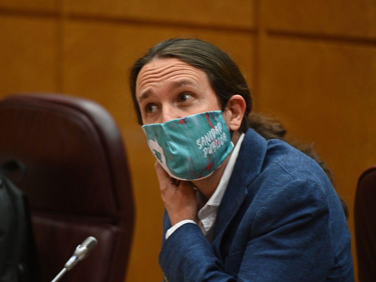 Foto: El vicepresidente segundo del Gobierno y líder de Unidas Podemos, Pablo Iglesias. (EFE)