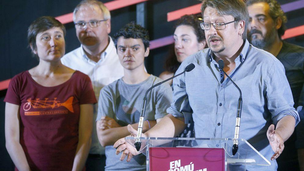 Foto: Xavier Domènech (d) es el candidato de Podemos para presidir el Congreso. (EFE)