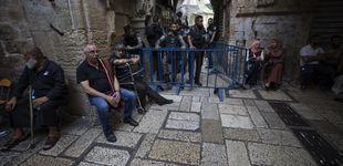 Post de Israel retira los detectores de metal de la Explanada de las Mezquitas