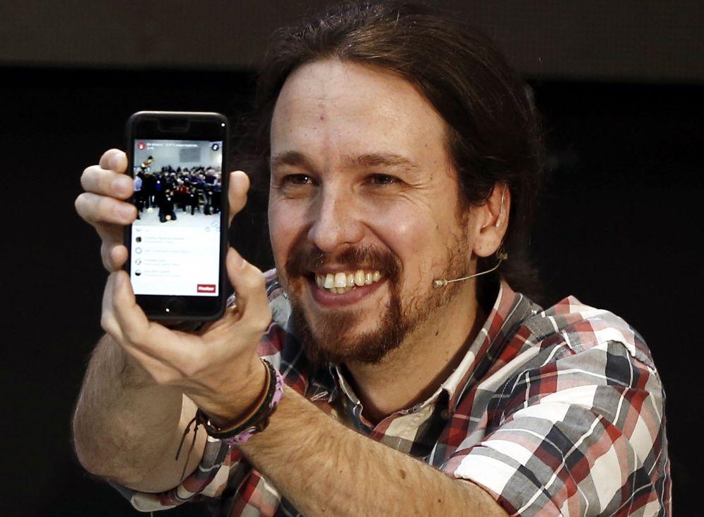Foto: Acto de Podemos en Pamplona. (Foto: EFE)