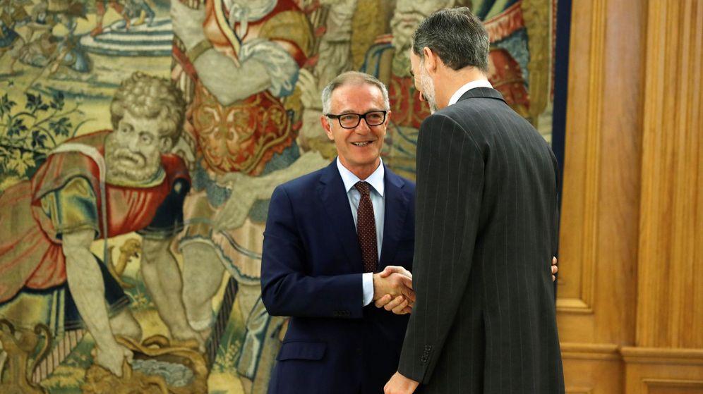 Foto: Guirao promete su cargo ante el Rey. (EFE)