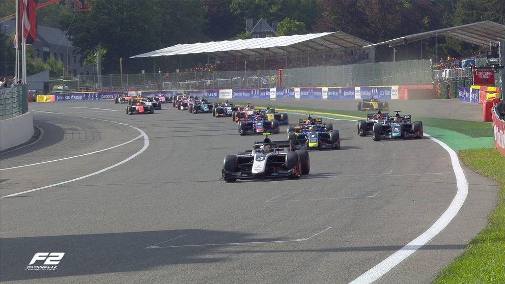 Fallece un piloto de Fórmula 2 en un escalofriante accidente en Bélgica