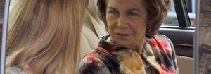 Foto: La difícil situación de la reina Sofía en Zarzuela