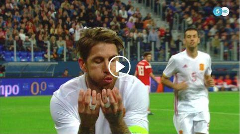 Sergio Ramos y su emotivo gesto hacia su hijo Marco desde Rusia por su segundo cumpleaños