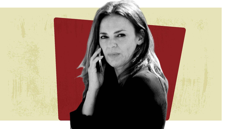 Olga Moreno. (Montaje Vanitatis)