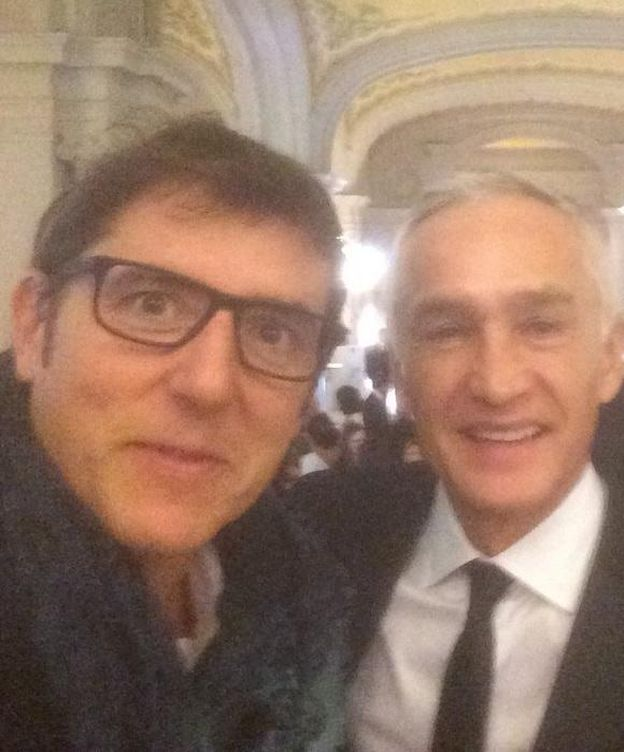 Foto: Fuentes junto a Jorge Ramos (Twitter)
