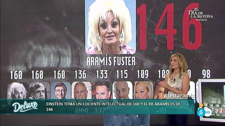 Aramís Fuster posee un CI de 146 puntos. (Mediaset)