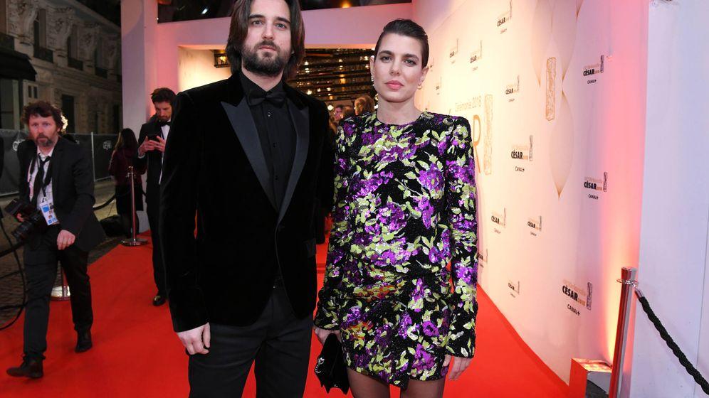 Foto: Carlota y Dimitri en los Premios César. (Gtres)