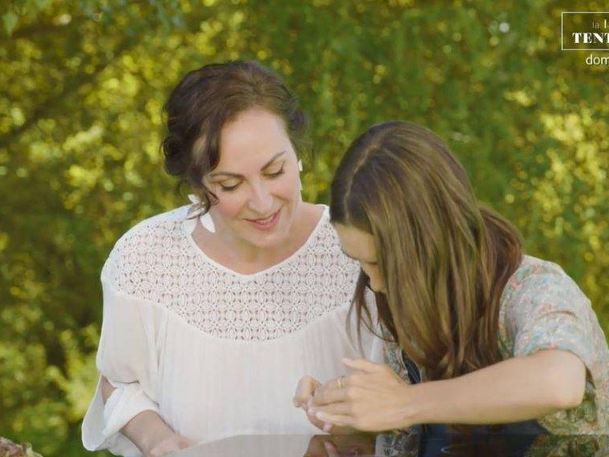 Foto: Ana Milán y Elena Furiase, en 'Mi casa es la tuya'. (Mediaset España)
