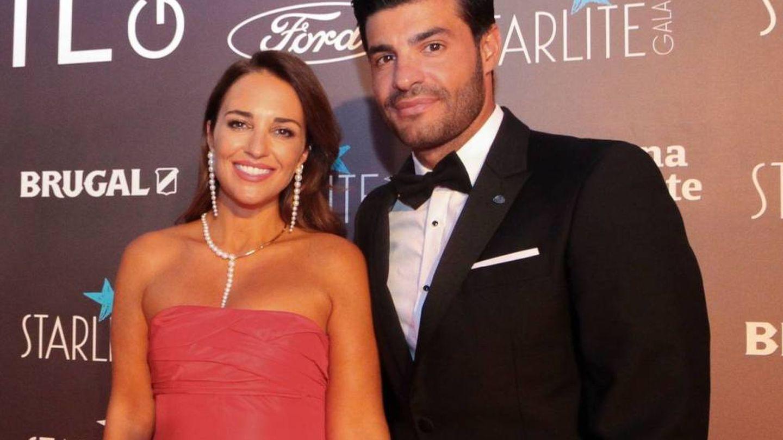 Paula Echevarría y Miguel Torres, en Marbella. (Cortesía Gala Starlite)