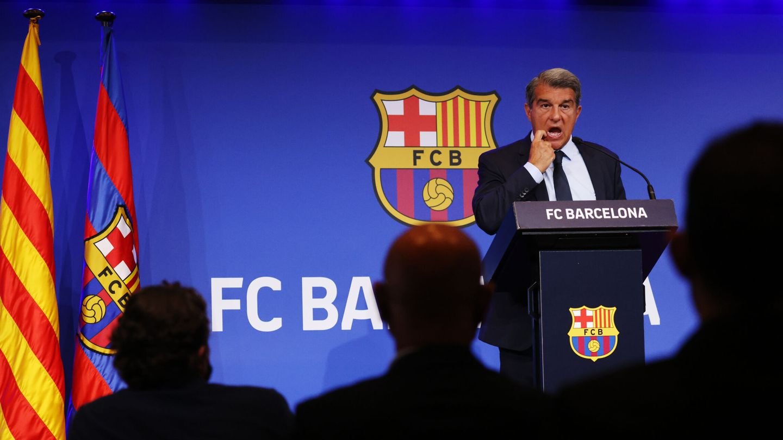 Laporta expone los errores de Bartomeu. (Reuters)