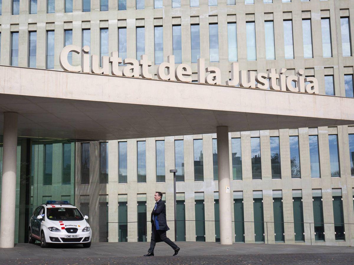 Foto: Ciudad de la Justicia de Barcelona. (Europa Press)