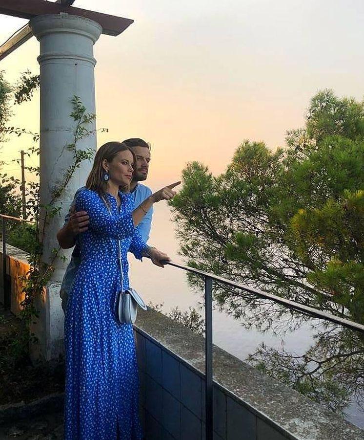 Foto: El príncipe Carlos Felipe de Suecia y su mujer, Sofía de Suecia. (IG)