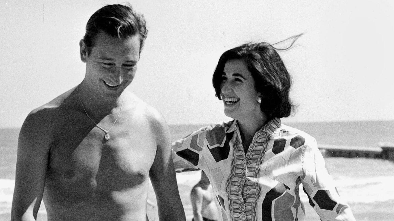El marqués de Villaverde y Carmen Franco, en Marbella. (Gtres)