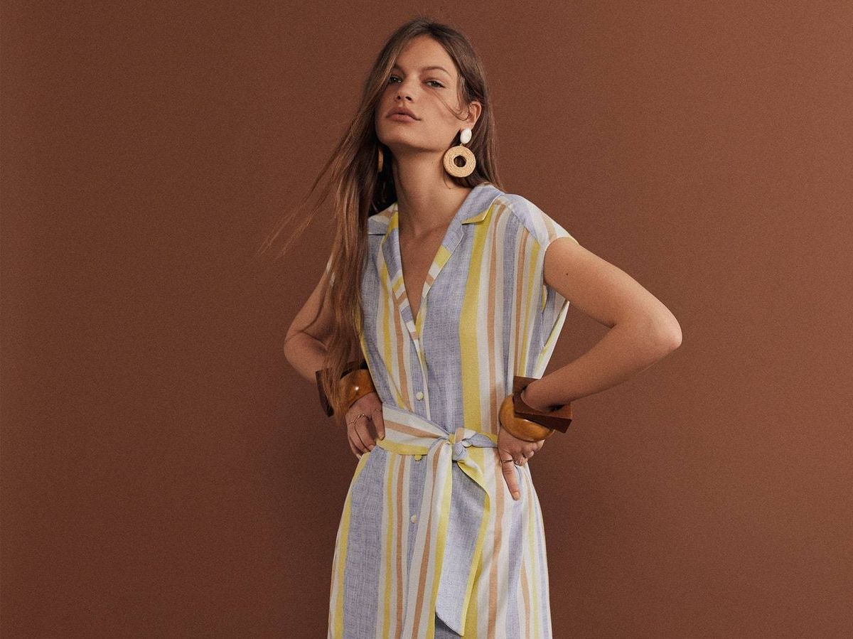 Foto: Los 5 vestidos de Mango Outlet que debes fichar ya. (Cortesía)