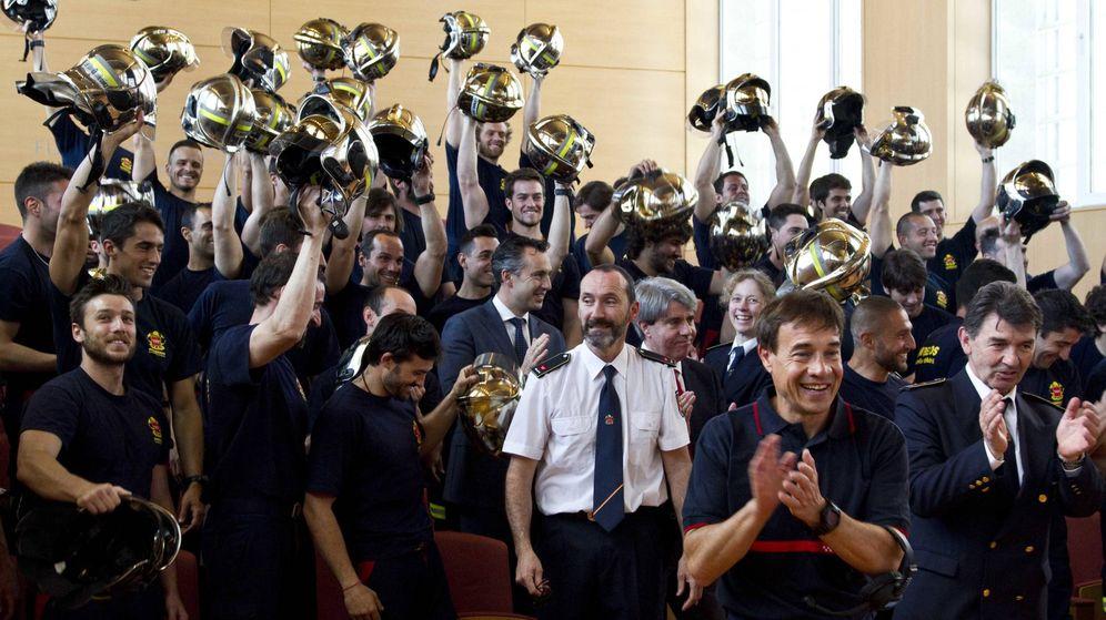 Foto: La última promoción de Bomberos de la Comunidad de Madrid.