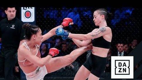 El KO de la modelo y actriz Valerie Loureda en su debut en Bellator