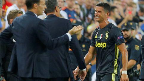 Cristiano Ronaldo rompe a llorar tras su expulsión en Champions