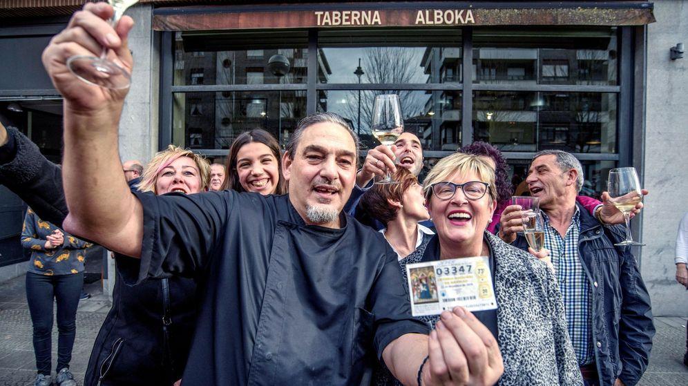 Foto: La Lotería de Navidad repartió 187,2 millones de euros en Vizcaya (EFE)