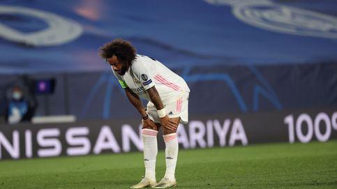 Zidane pasa de estar ciego con Marcelo a dejar caer al brasileño