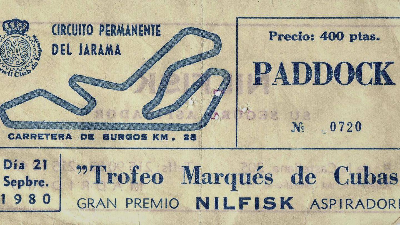 Una entrada de aquella época del Jarama.
