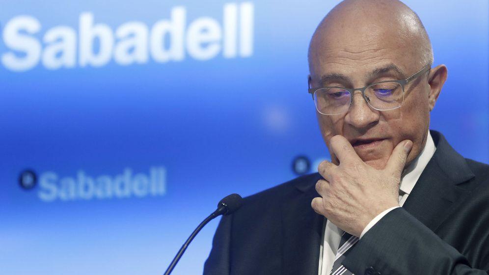 Foto: El presidente de Banco Sabadell, Josep Oliu. (EFE)