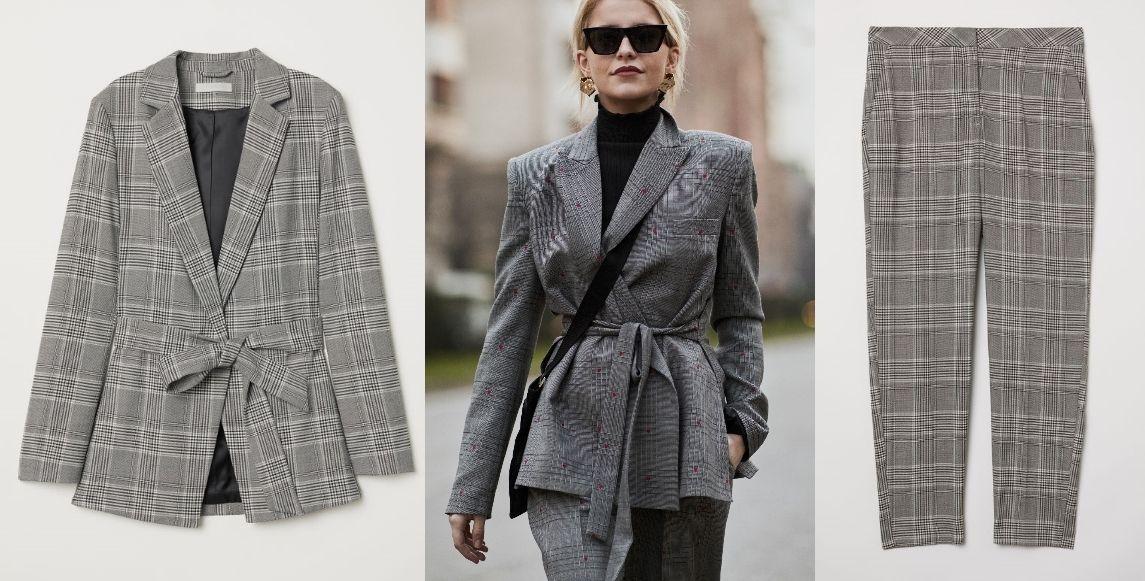 Un clásico: pantalón (29,99 €) y americana (39,99 €), de H&M.