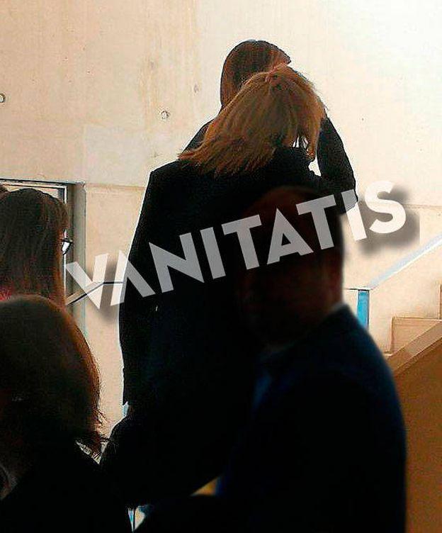 Foto: La Infanta en el funeral. (VA)