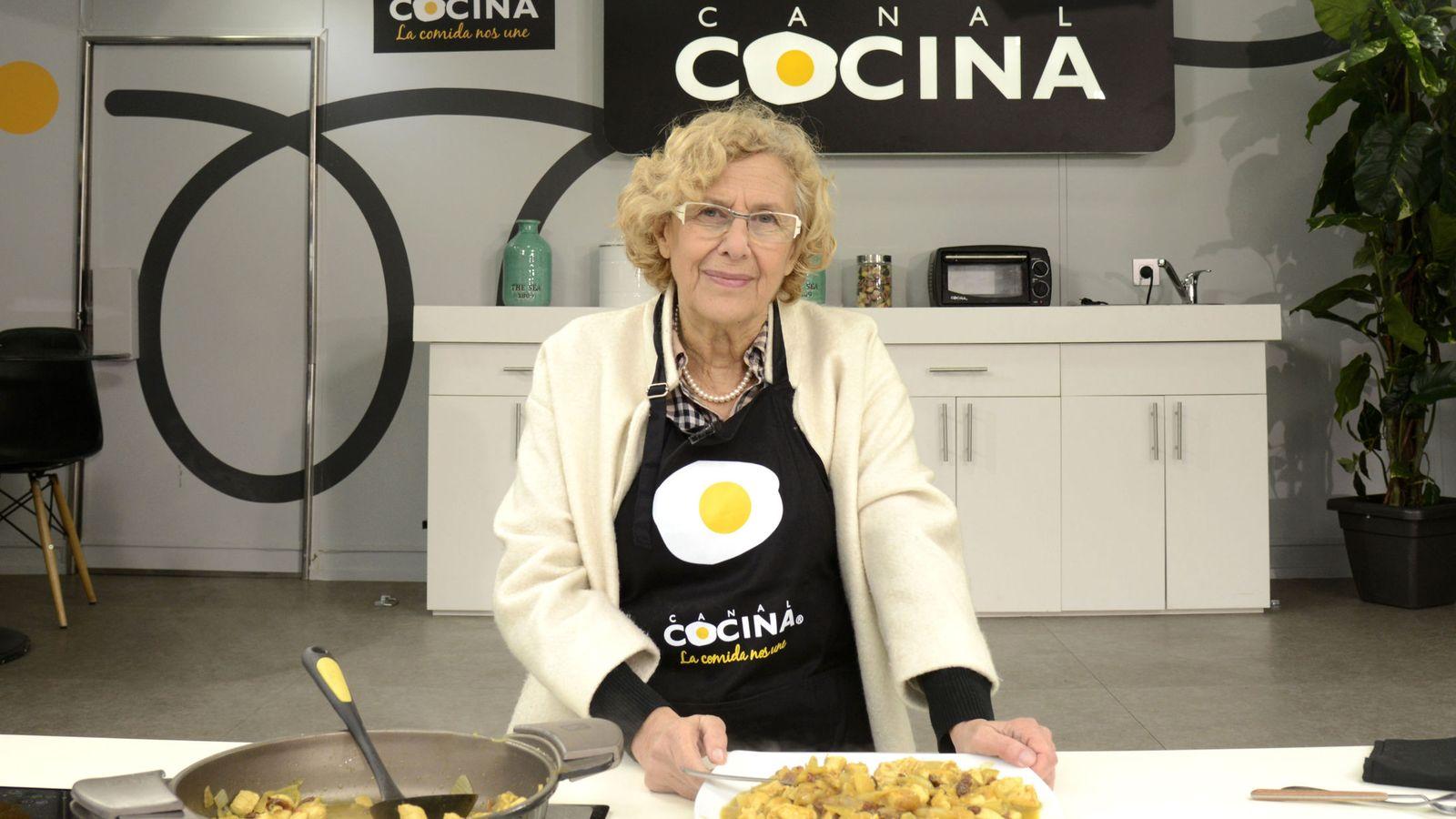 Manuela carmena para canal cocina for Canal cocina cocina de familia