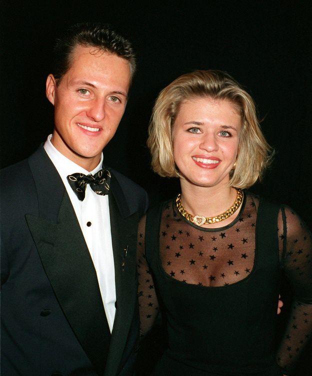 Foto: El matrimonio Schumacher en una imagen de archivo.(CORDON)