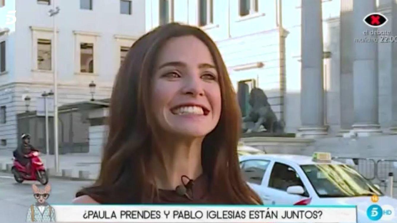 Paula Prendes despeja las dudas sobre su presunta relación con Pablo Iglesias