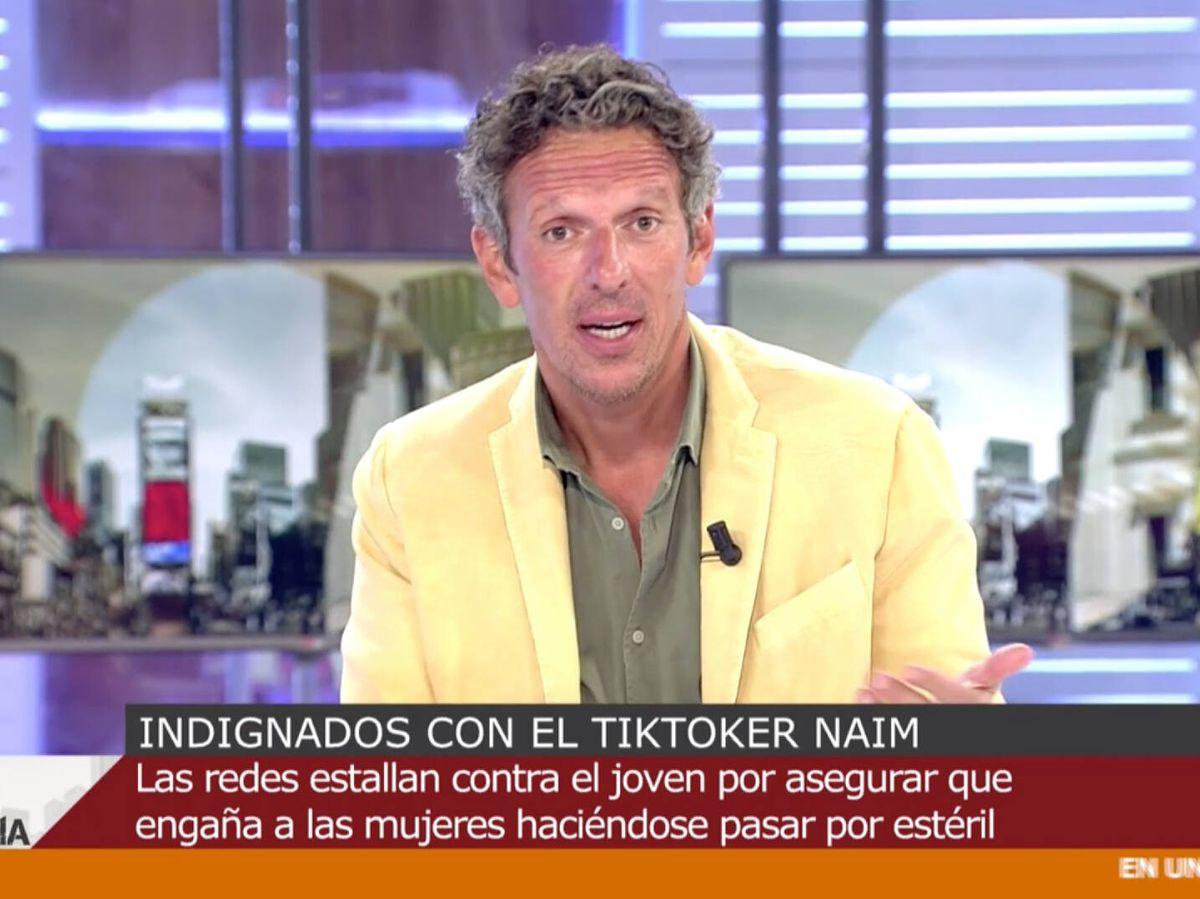 Foto: Joaquín Prat en 'Cuatro al día'. (Cuatro)