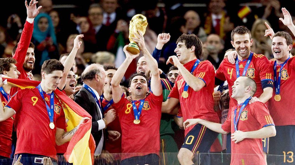 Foto: Xavi Hernández ganó un Mundial y dos Eurocopas con la Selección española. (Imago)