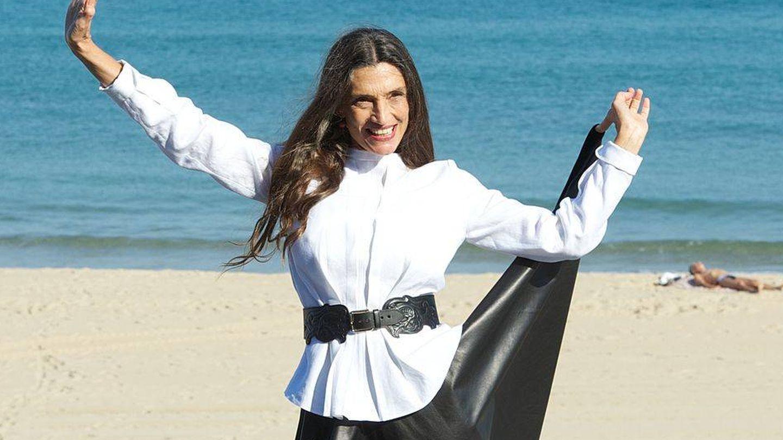 Ángela Molina, en el Festival de San Sebastián, donde presentó 'Blancanieves', de Pablo Berger. (Getty)