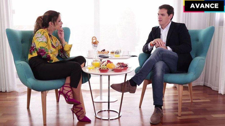 Tanara Gorro y Albert Rivera. (Mediaset)