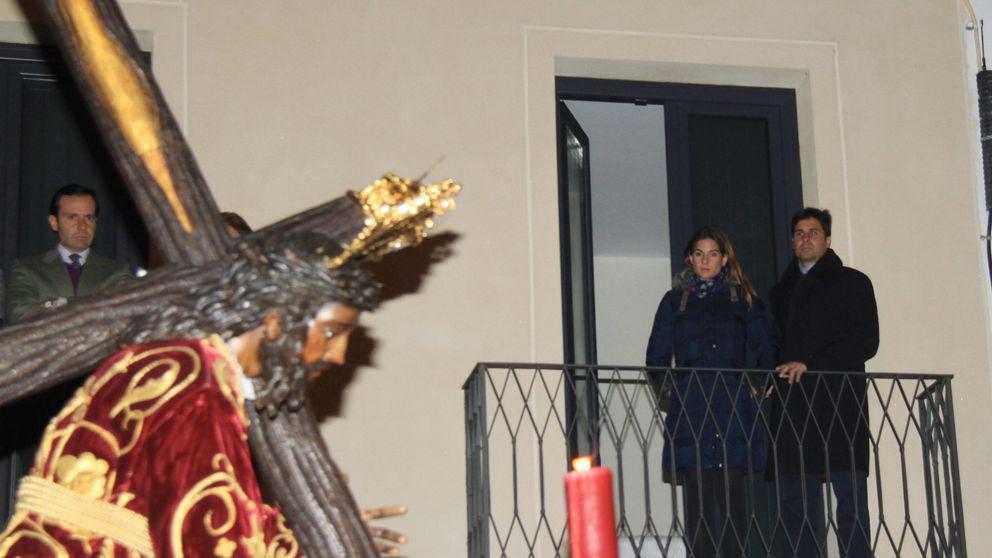 Fran Rivera, muy devoto del Cristo de las Tres Caídas en Sevilla