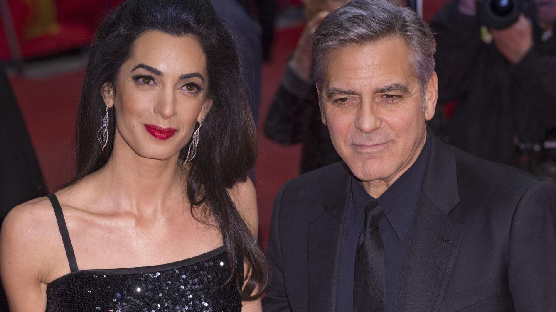 Foto: Amal Clooney y su marido, el actor George Clooney (Gtres)