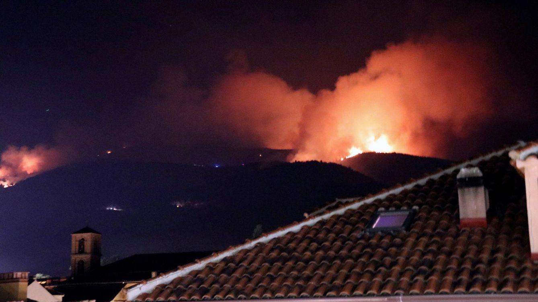 Foto: Incendio en Miraflores (Madrid) en pleno Parque Nacional de Guadarrama. (EFE)
