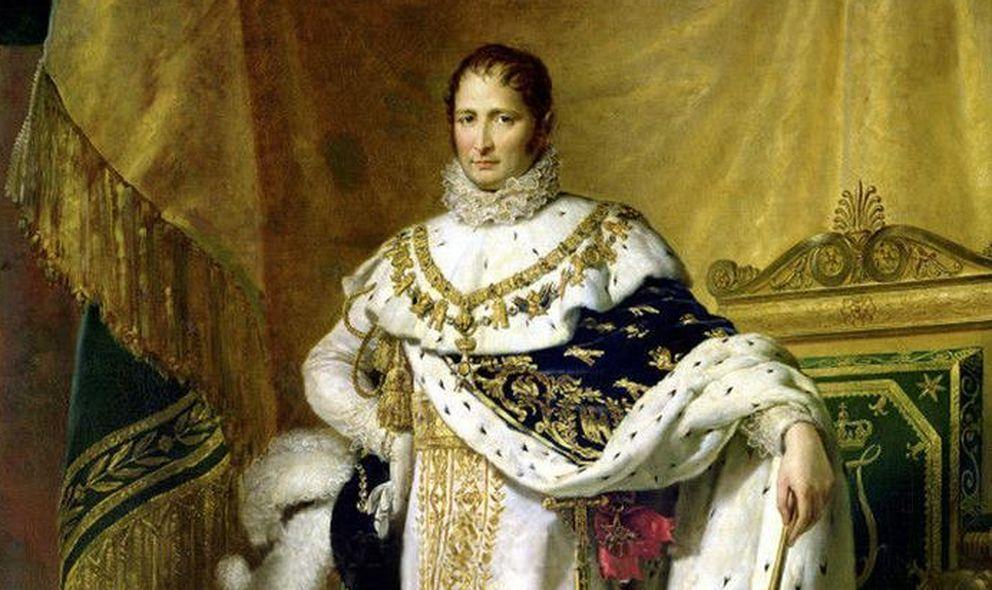 Foto: José Bonaparte retratado por François Gérard.